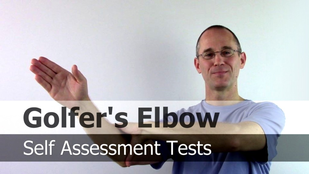 Part of a video course that includes testing for Golfer's Elbow