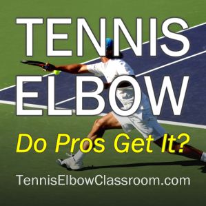 Image: Pro Players And Tennis Elbow