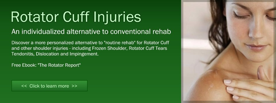 Shoulder, Rotator Cuff Injury Treatment in Marin, San Francisco