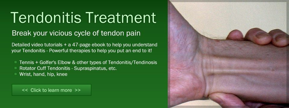 Treatment for Tendonitis Injuries in Marin, San Francisco