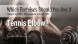 Skip These Gym Exercises If You Have Tennis Elbow