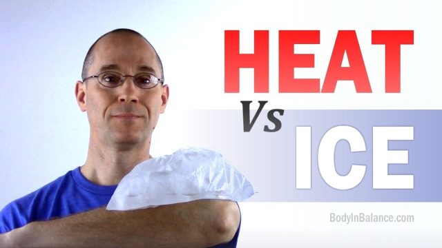 Should you use Ice or Heat on your Tennis Elbow?