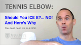 Should You Use Ice to Treat Your Tennis Elbow?