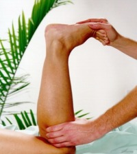 Photo of Neuromuscular Therapy on Leg