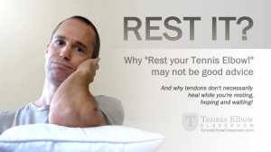 How Helpful Is Rest For Tennis Elbow?