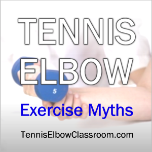 Image: Tennis Elbow Exercise Myths And Mistakes