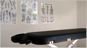 Neuromuscular Massage Therapy Treatment Table
