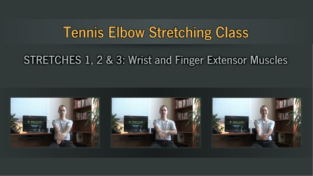 Tennis Elbow Self-Treatment Program - Stretching