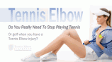 Can You Keep Playing Tennis When You Have Tennis Elbow?